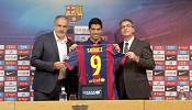 Luis Suarez in pledge to Barcelona fans to stop biting