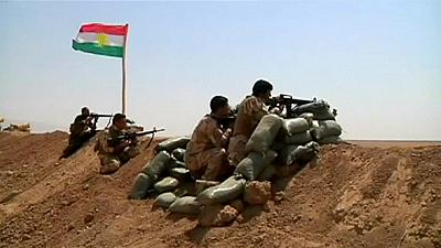 Gains in Kurdish counterattack but Iraq militants put up stiff resistance