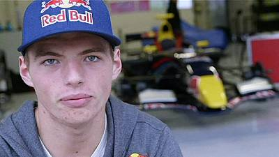 Max Verstappen given keys to Torro Rosso formula one car