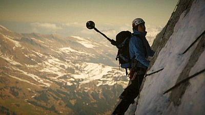 Unique project captures breathtaking 360 images of the Eiger