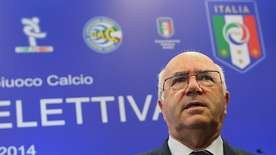 Uefa charges Italy football chief over racist remarks