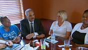 Eric Holder visits Ferguson on peace mission