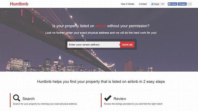 "Huntbnb, le ""plombeur"" d'Airbnb ?"