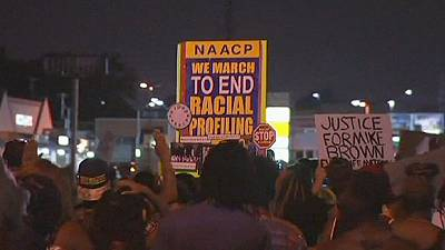 Calm returns to Ferguson in US after shooting of black teenager