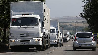 Russian aid convoy is 'direct invasion' says Ukraine