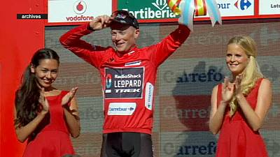 Horner out of Vuelta