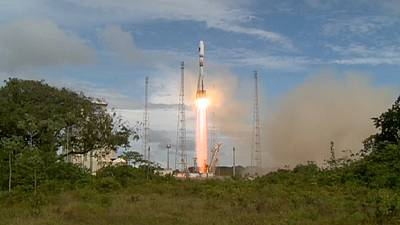 Europe launches two more Galileo satellites