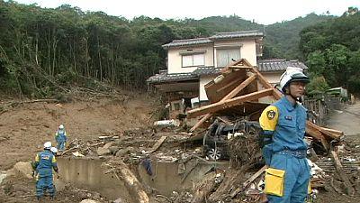 La cifra de desaparecidos por las lluvias en Japón se eleva a 51