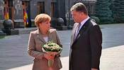 Merkel arrives in Ukraine looking for a ceasefire