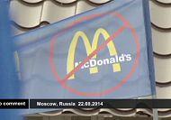 Russia: protest against McDonald's restaurants