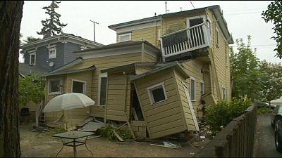 Violent séisme en Californie