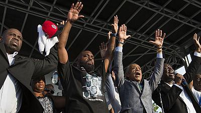 USA: Father of shot black teen Michael Brown urges calm for funeral