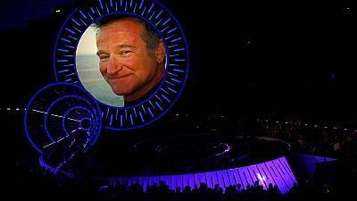 Music industry's tribute to Robin Williams