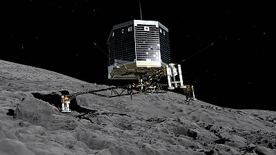 Rosetta selects top 5 landing sites on comet