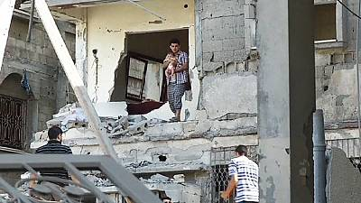 Mosque and charity headquarters damaged by airstrike in Gaza Strip – nocomment
