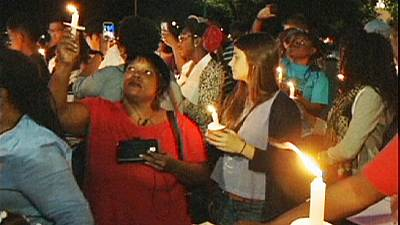 Washington: Candlelit vigil held for murdered teen Michael Brown