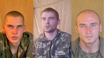 Captured Russian soldiers crossed Ukraine border 'by accident'