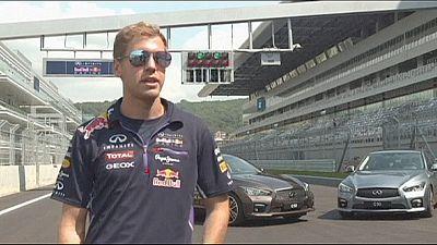 F1: Vettel prova il nuovo tracciato di Sochi