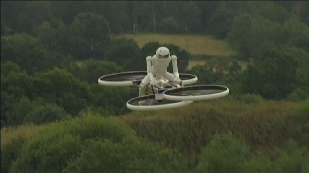 Una compañía británica diseña la primera aeromoto