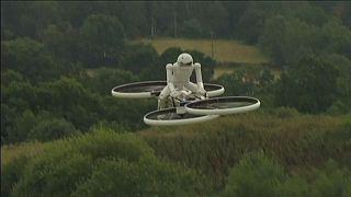 По пути создания пилотируемых квадрокоптеров