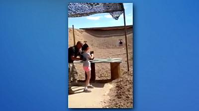 Girl, 9, accidentally kills Arizona shooting instructor with machine gun