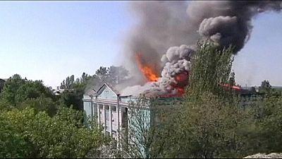 Weiter Kämpfe in der Ostukraine