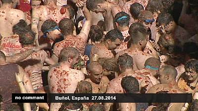 Spain: The 'World's Biggest Food Fight' – nocomment