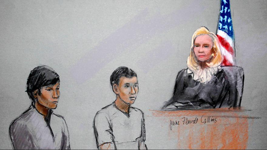 Boston bombing suspects' sister arrested