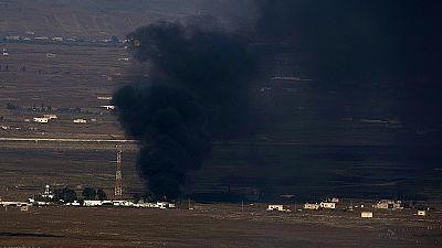 Bombardements syriens contre les rebelles, à la frontière avec le plateau du Golan