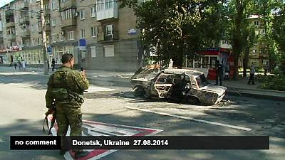 Ukraine: Fighting rages as the House of Culture blazes – nocomment