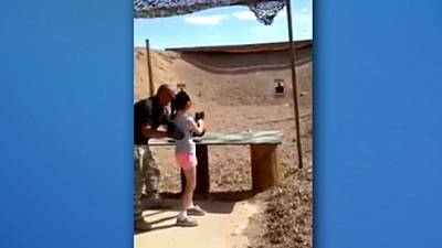 Footage released of 9-year-old on firing range moments before she accidently kills instructor