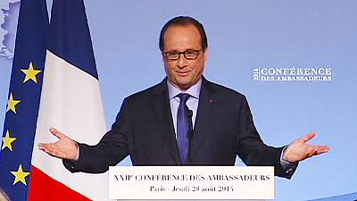 France: Hollande calls for eurozone summit to push for growth