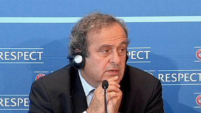 Platini not in running for FIFA presidency