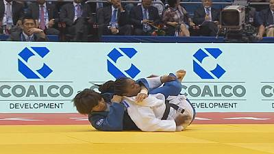 World Judo Championships: Agbegnenou and Tchrikishvili on top of day four podium