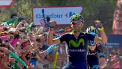 Valverde leads Vuelta after stage six victory
