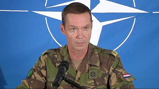 NATO: satellite images 'show Russian troops in Ukraine'
