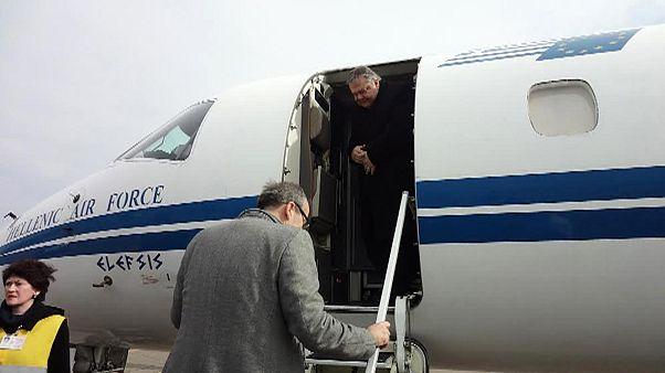 «Θρίλερ στον αέρα» με το αεροσκάφος του Ευ. Βενιζέλου