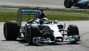 Nico Rosberg says sorry to Lewis Hamilton for Belgian F1 clash