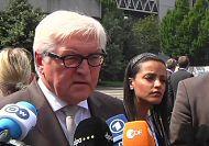 EU ministers meet in Milan amid Ukraine crisis