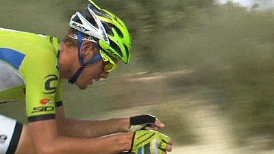 Vuelta a España: De Marchi wins stage 7