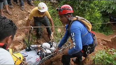 20 trapped gold miners rescued in Nicaragua as search continues