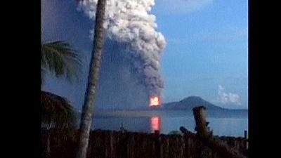 Papua New Guinea's Mount Tavurvu erupts disrupting some flights