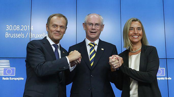 Avrupa Birliği'nde iki önemli koltuk sahibini buldu
