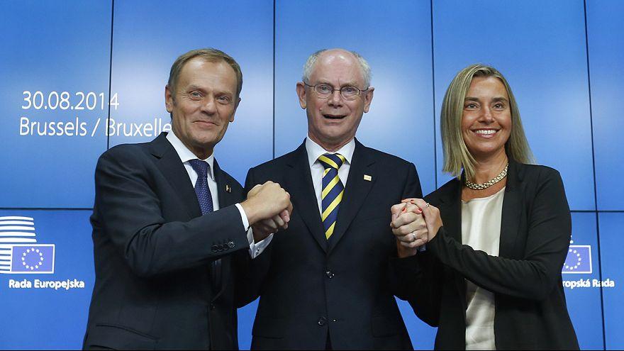 Cimeira da UE: Tusk presidente do Conselho e Mogherini chefe da diplomacia