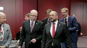 Russia-Ukraine intrudes on EU top job summit