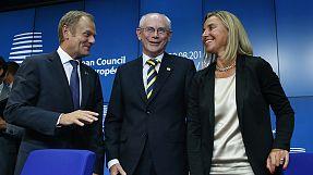 Tusk y Mogherini se enfrentarán a los desafíos de Europa