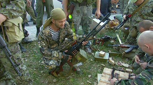 """Kiev dénonce une """"agression directe et ouverte"""" de la Russie"""