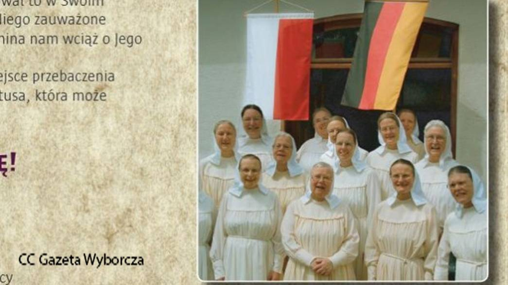 Des religieuses allemandes demandent pardon aux Polonais pour les crimes nazis