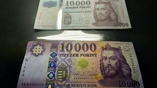 Megújulnak a magyar bankjegyek