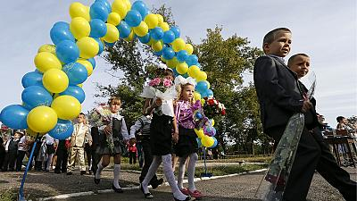 Not all children back to school in Ukraine